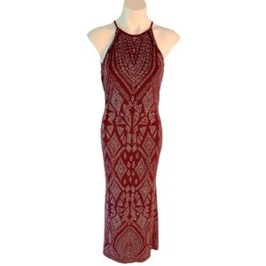 Jump Apparel Gorgeous Deep Maeve Shimmer Gown.